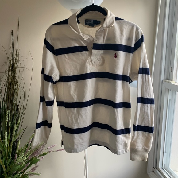 83882ac0826 Polo by Ralph Lauren Tops | Rugby Shirt Womens Small | Poshmark